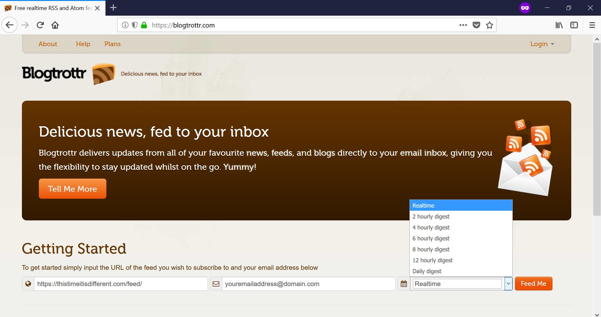 Blogtrotter Screenshot